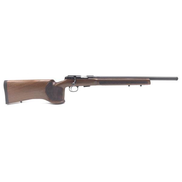 "CZ 457 Varmint MTR Bolt-Action Match Rifle, 20"" Barrel, 22 LR,  Wood, New"