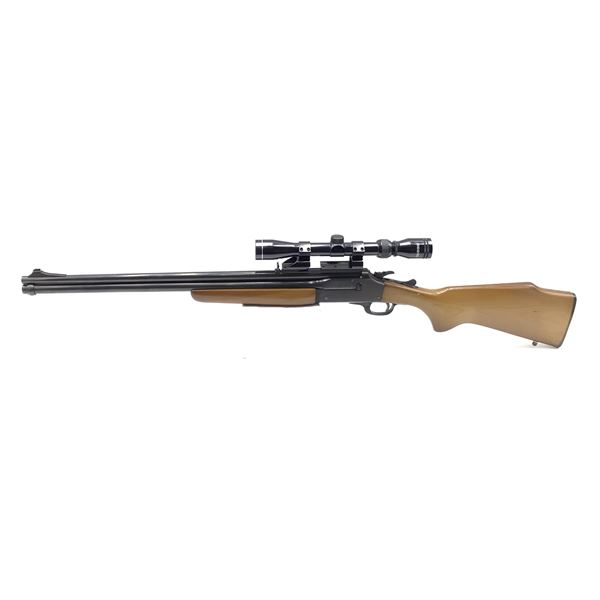 Savage 24V Series D, Double Barrel 20ga 222 Rem Break Action Combo Gun W/ Tasco 3-9x40 Scope