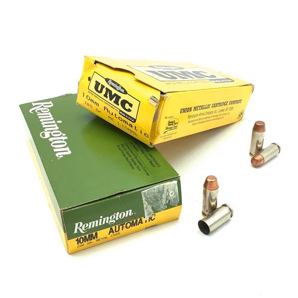 Remington 10 mm Auto FMJ Ammunition, 85 Rounds