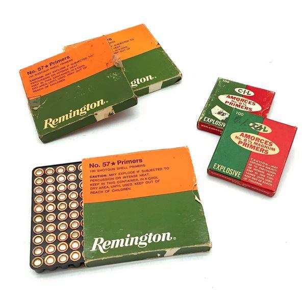 CIL 8 1/2 Magnum Primers 195 PC and Remington #57 Primers 300 PC