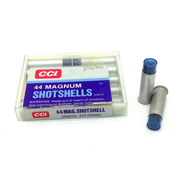 CCI 44 Mag Shotshell Ammunition, 10 Rounds