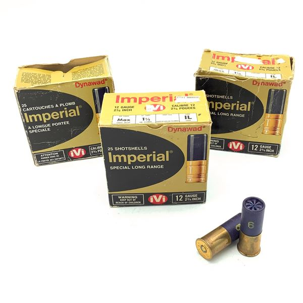 """Imperial 12 Ga 2 3/4"""" Ammunition, 69 Rounds"""