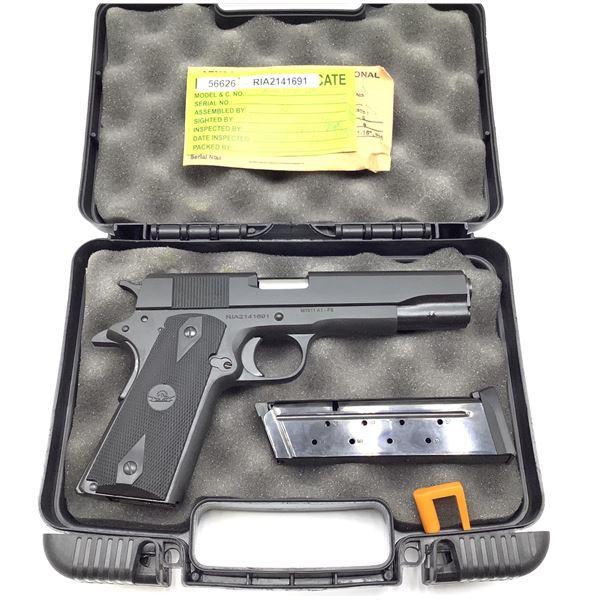 Rock Island Armory M1911 A1 Semi Auto Pistol 9mm Restricted, New