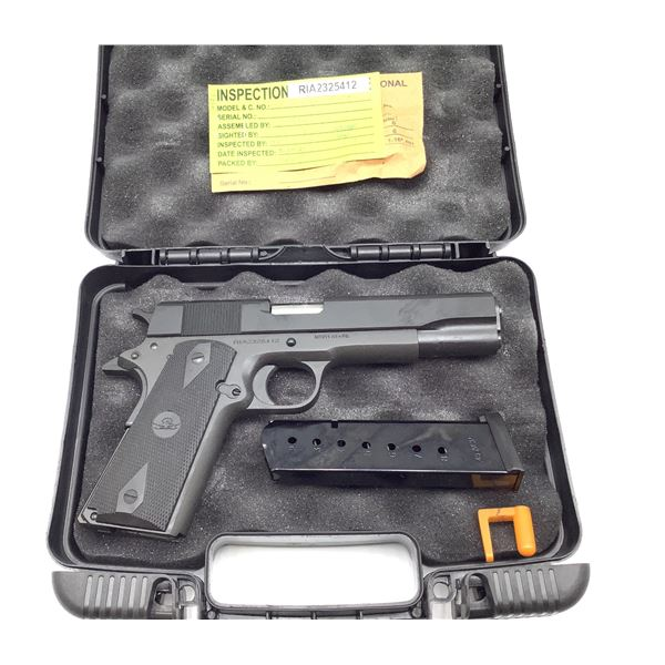 Rock Island Armory M1911 A1 Semi Auto Pistol 45ACP Restricted, New