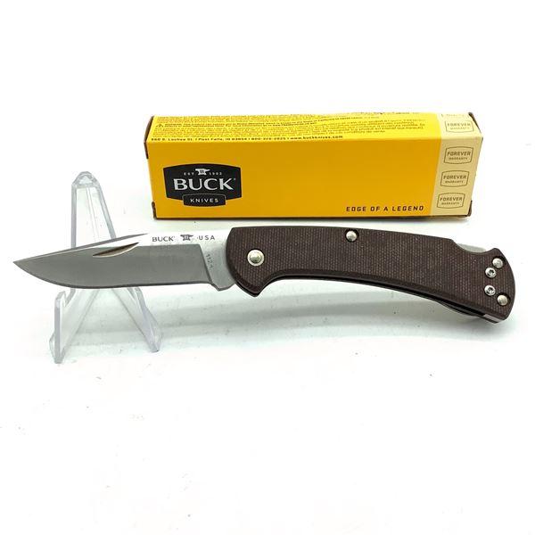 """Buck Slim Ranger Folding 2 1/2"""" Blade Pocket Knife, New"""