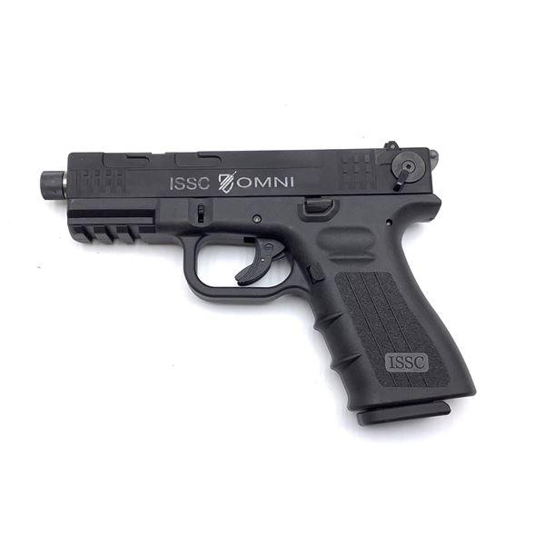 ISSC Omni 22 LR Semi Auto Pistol Restricted, New