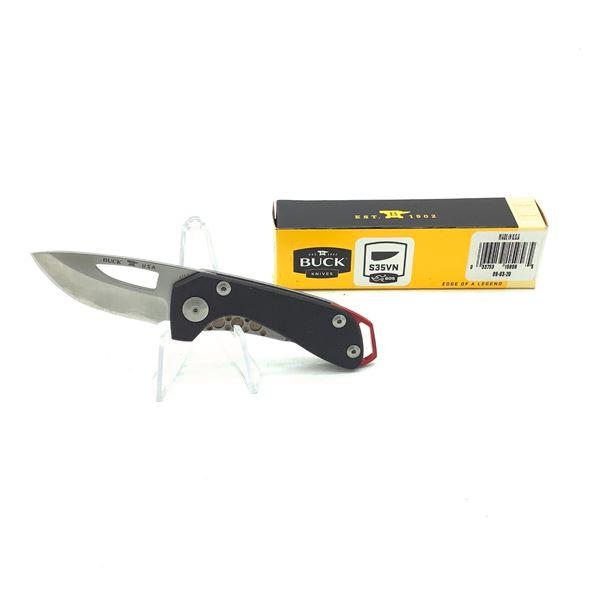 """Buck Budgie 2"""" Folding Pocket Knife, Blk New"""