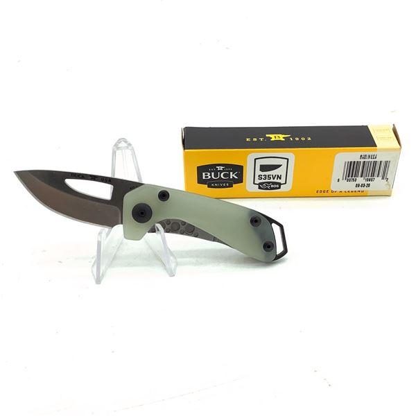 "Buck Budgie 2"" Folding Pocket Knife, Green, New"