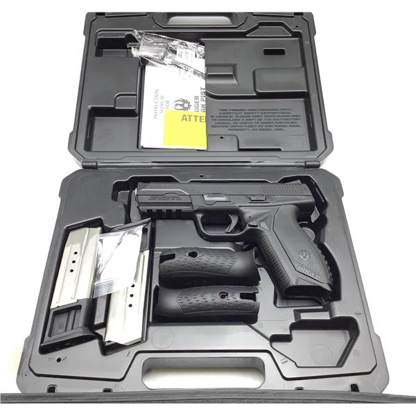 Ruger American Pro Model 9mm Semi Auto Pistol Restricted, New