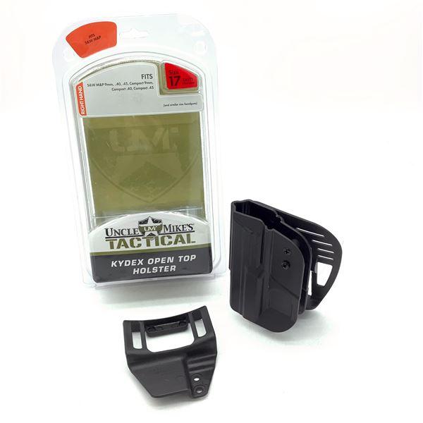 Uncle Mike's Kydex Size 17 RH Holster for S & W M & P 9/ 40/ 45 and Compacts, New
