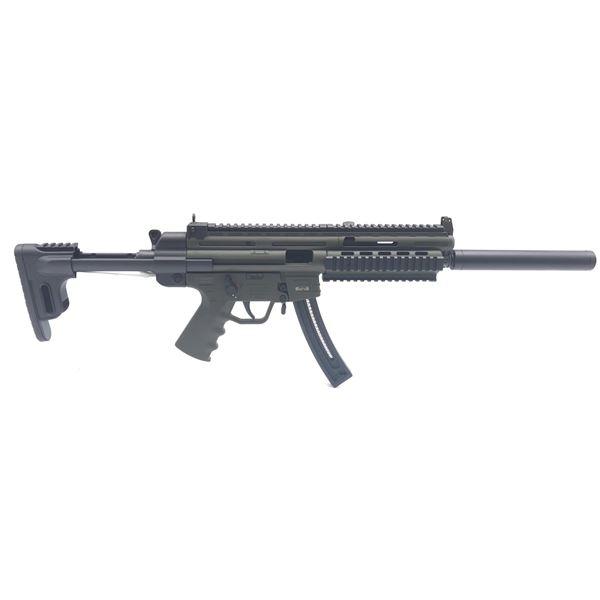 """GSG-16 Semi-Auto Rifle, 16.25"""" Barrel,  22LR, ODG, Non-Restricted, New"""