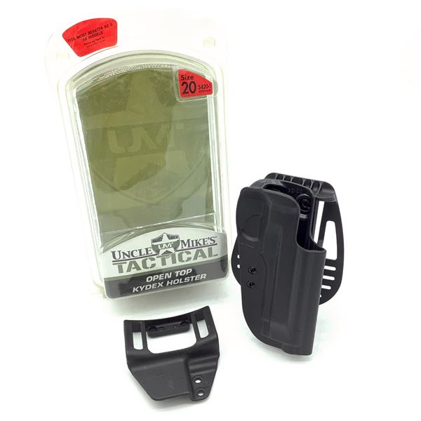 Uncle Mike's Kydex Size 20 RH Holster for Beretta 92 and 96 Models, New