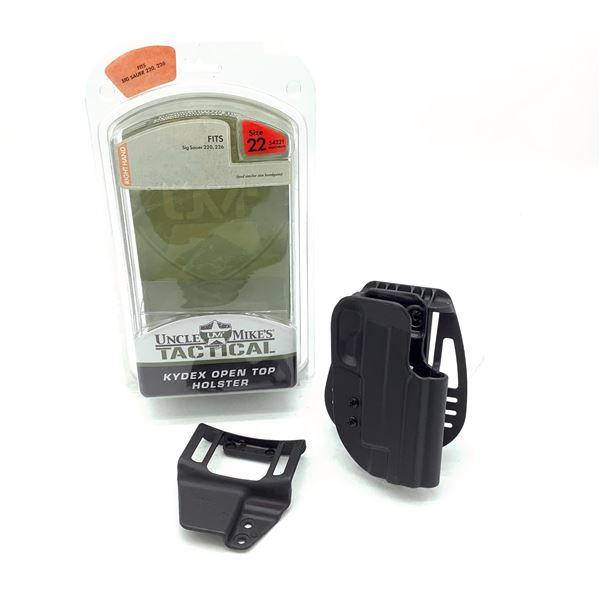 Uncle Mike's Kydex Size 22 RH Holster for Sig Sauer 220, 226, New