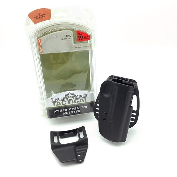 Uncle Mike's Kydex Size 19 RH S & W 1911 45, New