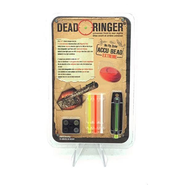 "Dead Ringer 3/8"" Ribbed Shotgun Barrel Sight, New"