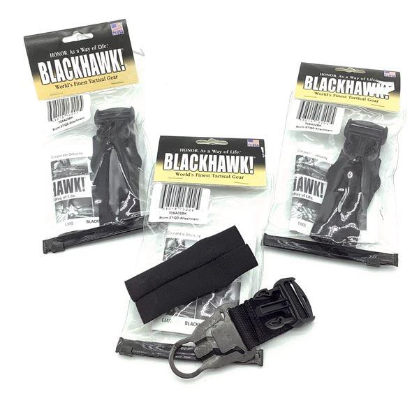 BlackHawk Storm XT/ QD Attachment X 3, Blk, New