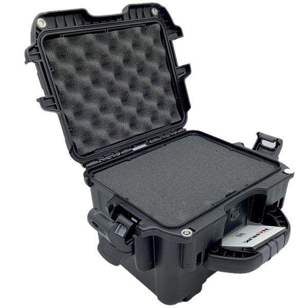 Nanuck 908 Hard Case w/ Foam, Black, New