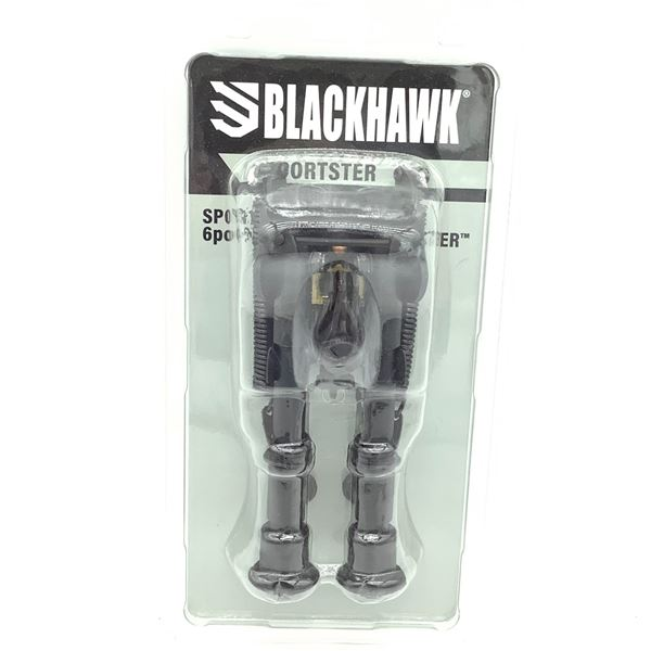 "Blackhawk Sportster Bipod, 6"" - 9"", New"