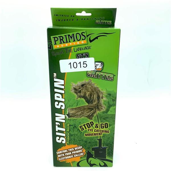 Primos Sit N' Spin Predator Decoy, New