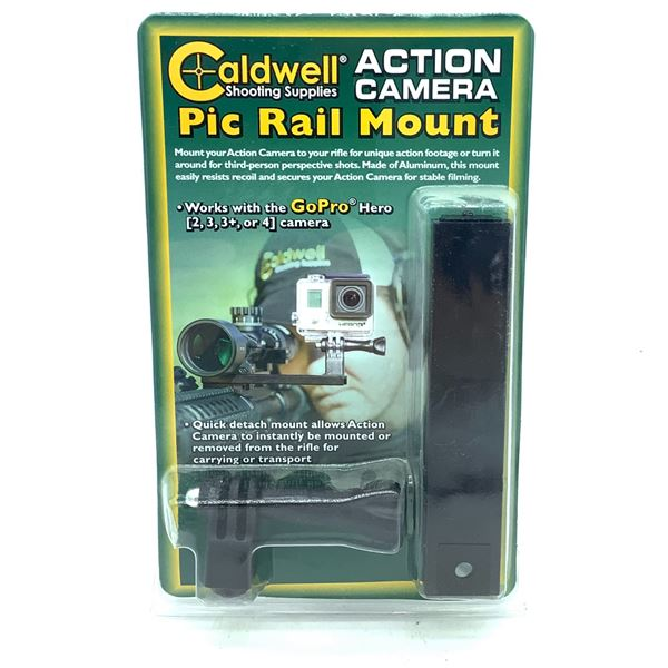 Caldwell Action Camera Pic Rail Mount, New