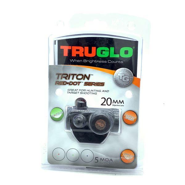 Truglo Triton Red Dot Series Sight, 20mm, 5 MOA, New