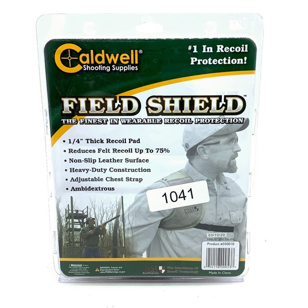 Caldwell Field Shield Wearable Recoil Pad, New