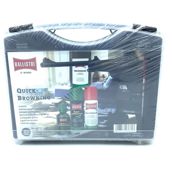 Ballistol Quick Browning Cleaning Kit, New