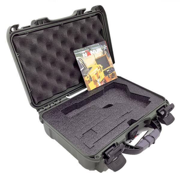 Nanuck 909 Hard Case w/ Foam, Olive, New