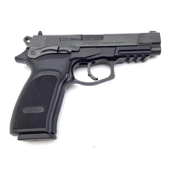 Bersa Thunder Pro 9mm Semi Auto Pistol Restricted