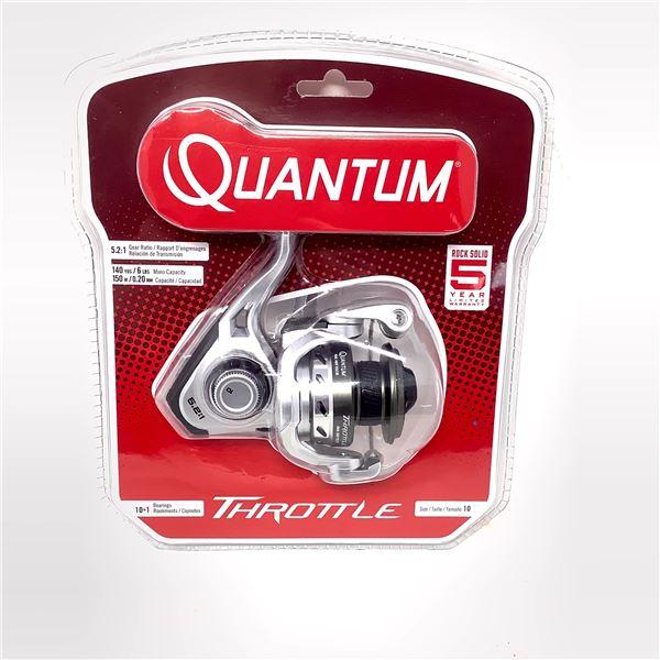 Quantum Throttle Size 10 Reel, 11 Bearing, 5.2:1 Ratio, New