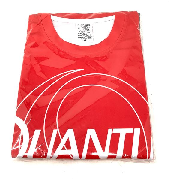 Quantum Red T-Shirt, XLg, New