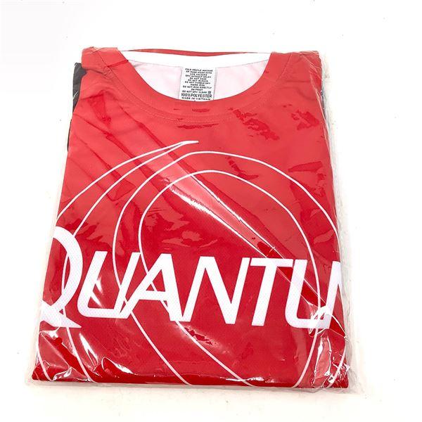 Quantum Red T-Shirt, Lg, New