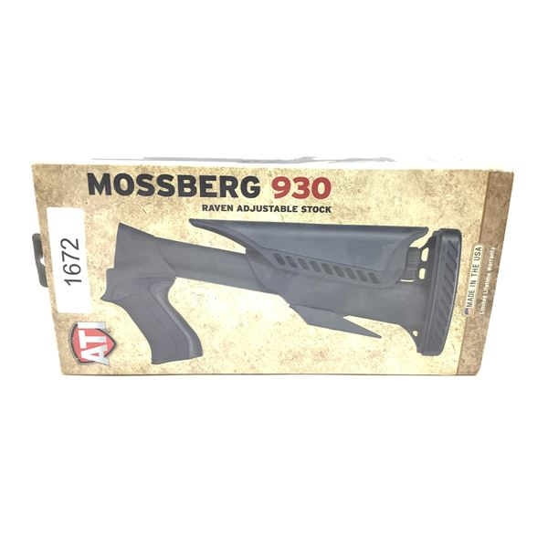 ATI Raven Adjustable Shotgun Stock for Mossberg 930 12 Ga, New