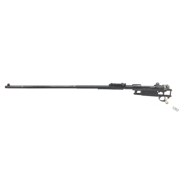 "Turkish M38 Bolt Action Rifle Barreled Action, 29.5"" Barrel, 8X57"