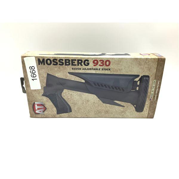 ATI Raven Adjustable Shotgun Stock for Mossberg 930 12ga, New