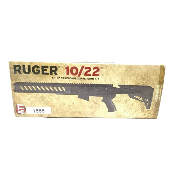ATI Ruger 10/22 AR-22 Takedown Conversion Kit, New