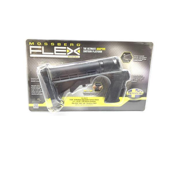 Mossberg Flex 500, 590 6-Position Adjustable Tactical Shotgun Stock, New