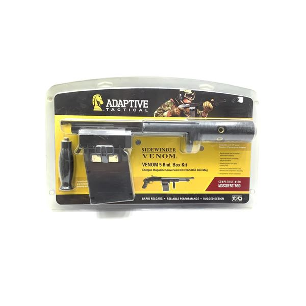 Mossberg 590 Adaptive Tactical Sidewinder Venom Shotgun Magazine Conversion Kit, New