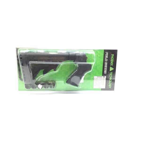 Phoenix Technology Field Series 6 Position Adjustable Stock for 12ga and 20ga Mossberg Shotguns, New