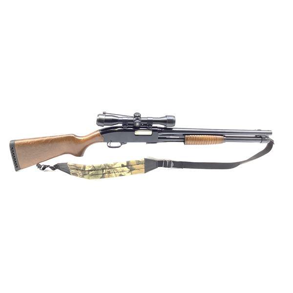 """Winchester Defender 12 Ga Pump Action Shotgun 3"""" with Bushnell Sportview Shotgun Scope"""