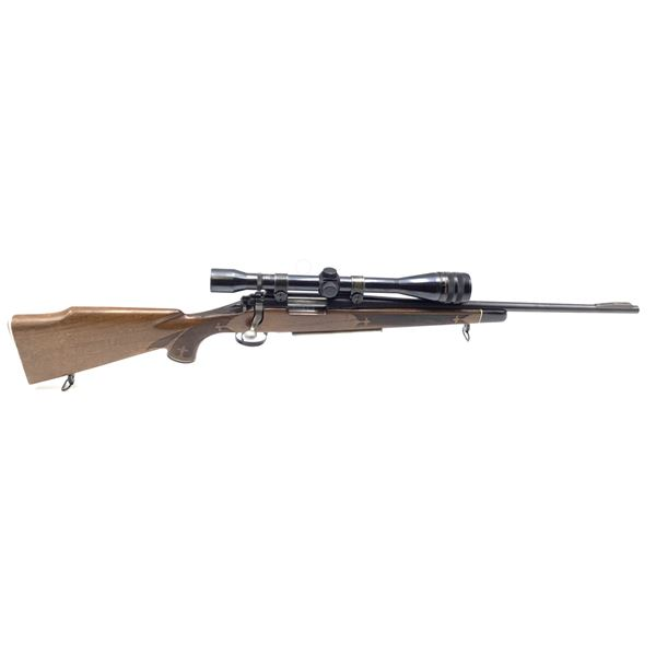 Remington Model 700 Bolt Action 222 Rifle with Weaver Micro-Trac K12-1 Scope
