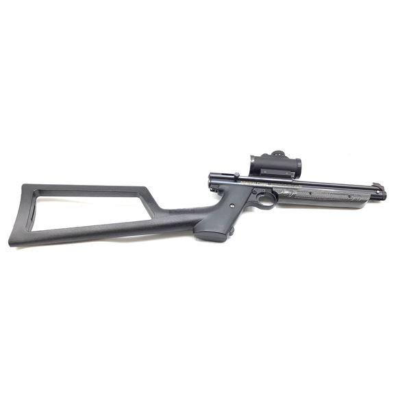 Crosman American Classic Model 1377 Single Shot Bolt Action Air Gun .177cal with Red Dot Scope