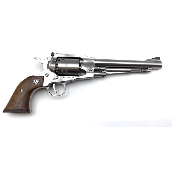 Ruger Old Army 44 Cal Black Powder Single Action Stainless Steel  Revolver Restricted