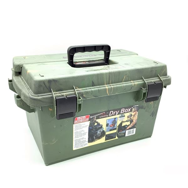 "MTM Casegard Dry Box, Approx 16"" X 11"" X 10"""