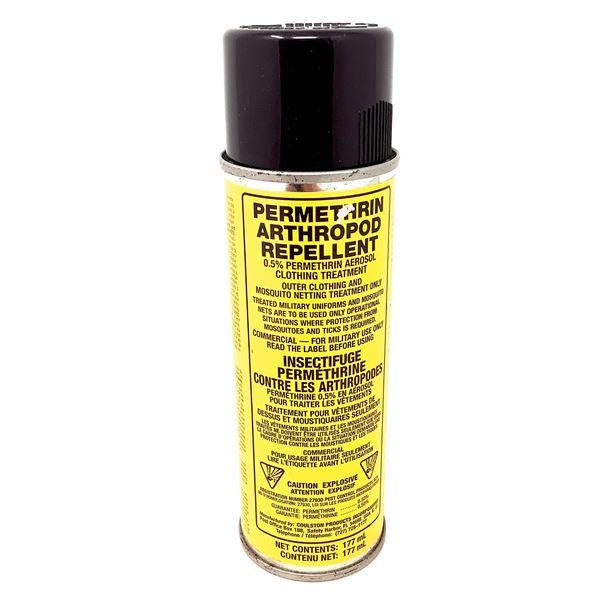 Permethrin Clothing Treatment Spray, 177 mL