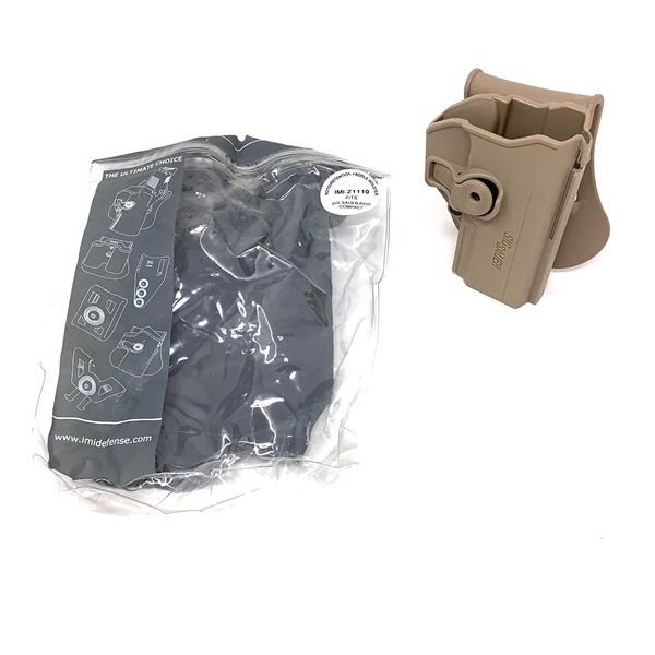IMI Defense Retention Paddle Holster for Sig Sauer P250, Tan