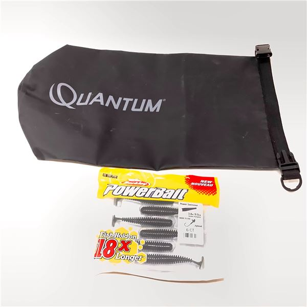 Quantum Bag and Berkley Power Bait
