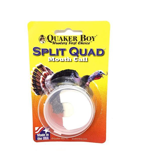Quaker Boy Split Quad Call, New