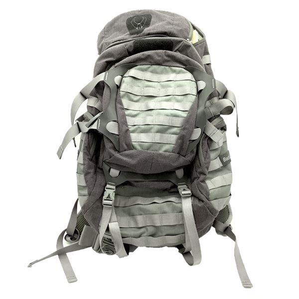 Badlands Breathable Structured Back Pack, Grey