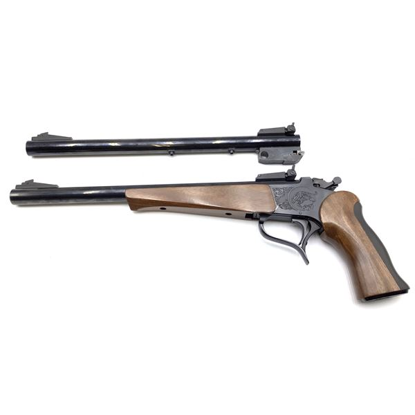 Thompson Centre Super 14 2 Barrel Combo 222Rem/44 Rem Mag Single Shot Pistol Restricted